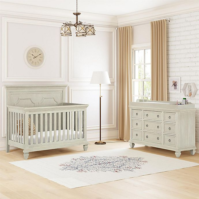 Bertini Penn Nursery Furniture Collection In Grey Sand