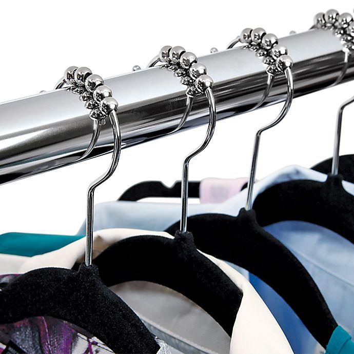 Alternate image 1 for SmartGlide™ Rolling Hangers (Set of 20)