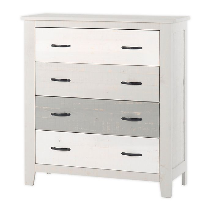 Alternate image 1 for Forever Eclectic™ Child Craft™ Long Beach 4-Drawer Chest in Seascape Gray
