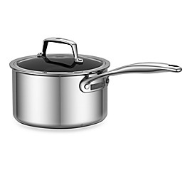 Zwilling J.A. Henckels Energy 3 qt. Ceramic-Coated Stainless Steel Covered Saucepan