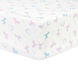 Trend Lab®  Flannel Fitted Crib Sheet