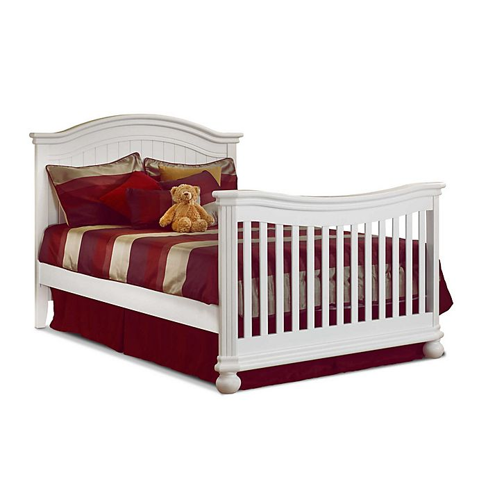 Alternate image 1 for Sorelle Finley Crib and Changer Adult Bed Rail