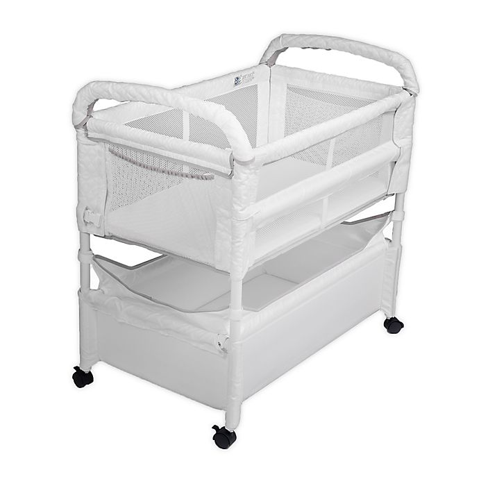Alternate image 1 for Arm's Reach Clear-Vue™ Co-Sleeper® in White