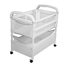 Arm's Reach Clear-Vue™ Co-Sleeper® in White