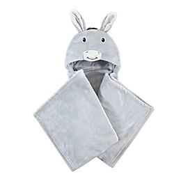 Hudson Baby Donkey Wearable Hooded Blanket in Grey