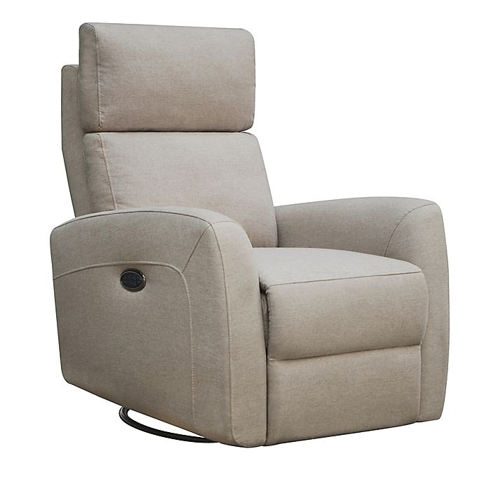 Alternate image 1 for Westwood Design Jordan Triple Power Glider and Recliner with Built in USB