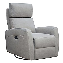 Westwood Design Jordan Triple Power Glider and Recliner with Built in USB
