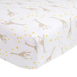 aden + anais® essentials Fitted Muslin Crib Sheet