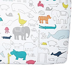 Pehr Noah's Ark Fitted Crib Sheet