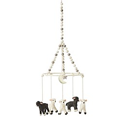 Pehr Just Hatched Hand-Woven Lamb Mobile in Grey