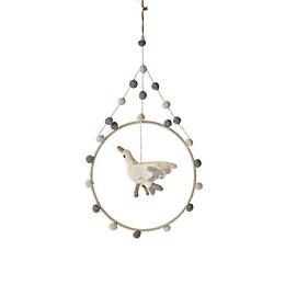 pehr Stork Surprise Mini Hoop Mobile in Grey