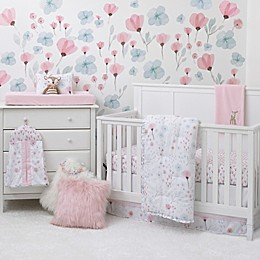 Nojo  Crib Set 8 Piece Crib Bedding Set in Pink