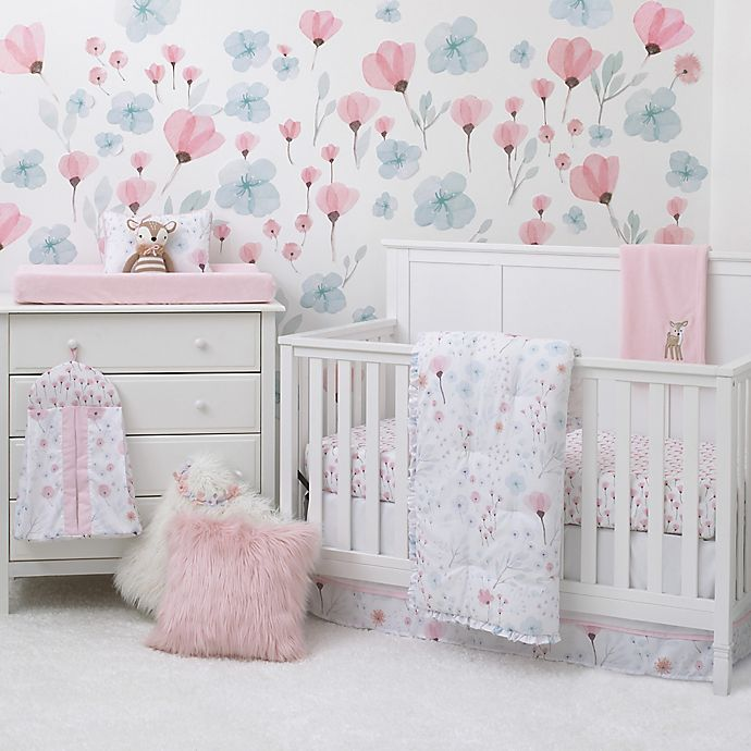 Alternate image 1 for Nojo  Crib Set 8 Piece Crib Bedding Set in Pink