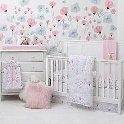 Nojo  Crib Set 8 Piece Crib Bedding Set in Pink