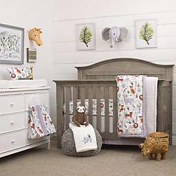 NoJo® Growing Wild 8-Piece Polyester Crib Bedding Set in Grey