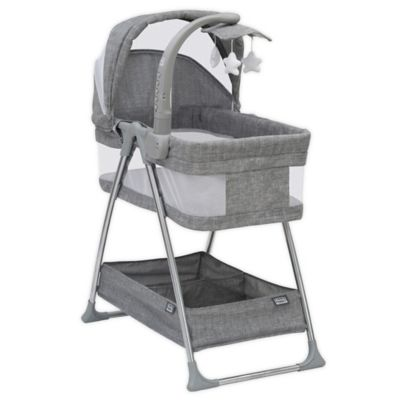 Chicco Close To You Bedside Bassinet Heather Grey NEW