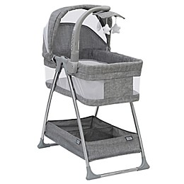 SIMMONS KIDS® City Sleeper Trendy Bassinet in Grey with Electronic Mobile