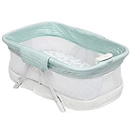 Simmons Kids® Ultra-Compact Mini Travel Bassinet in Aqua