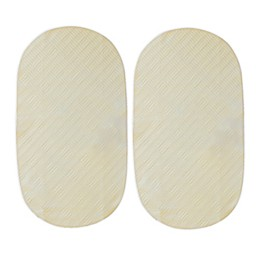 Boppy® Organic Cotton Top Waterproof Liners in Cream (Set of 2)