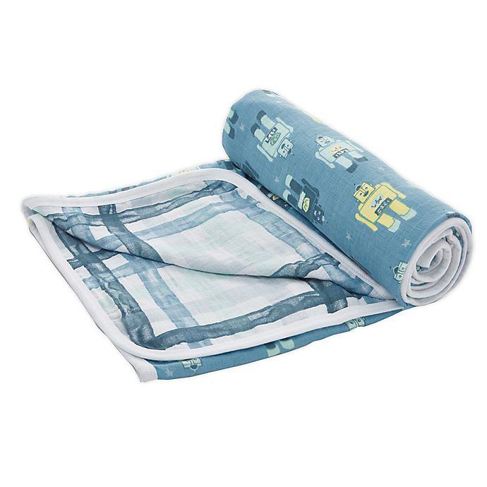 Alternate image 1 for aden + anais™ essentials Retro Stroller Blanket