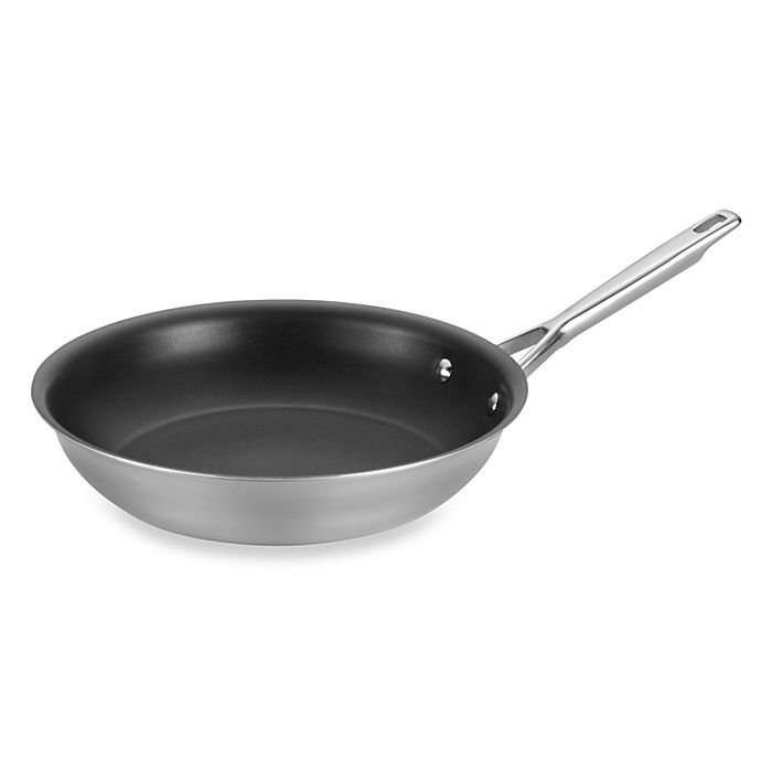 Alternate image 1 for Anolon® Tri-Ply Clad Stainless Steel Nonstick 12.75-Inch French Skillet