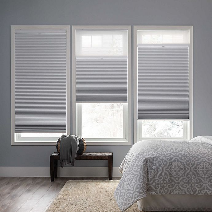 Alternate image 1 for Real Simple® Cordless Day/Night Cellular 72-Inch Length Shade