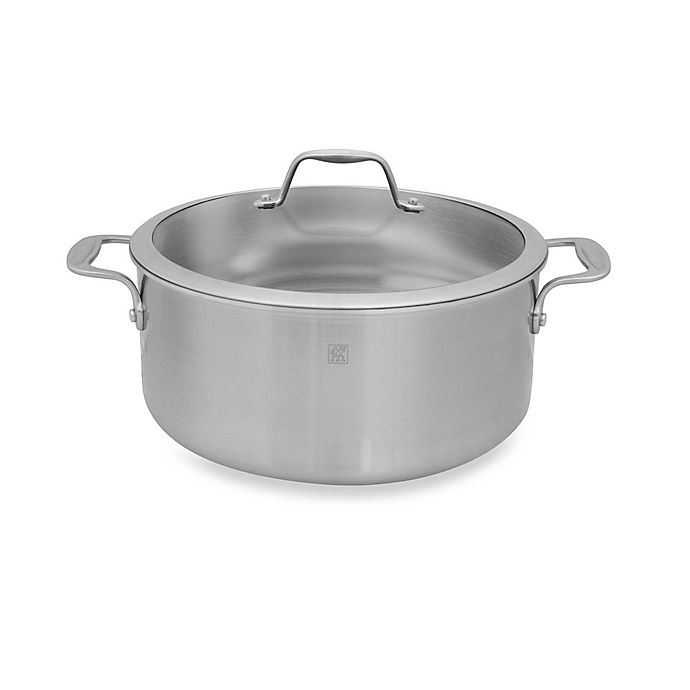 Alternate image 1 for Zwilling J.A. Henckels Spirit Stainless Steel Covered Dutch Ovens
