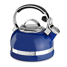 KitchenAid® 2-Quart Porcelain Enamel Tea Kettles with Stainless Steel Handle