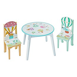 Fantasy Fields™ 3-Piece Hot Air Balloons Table and Chairs Set
