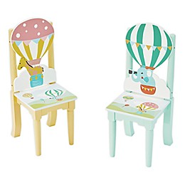 Fantasy Fields© Hot Air Balloons Side Chairs (Set of 2)