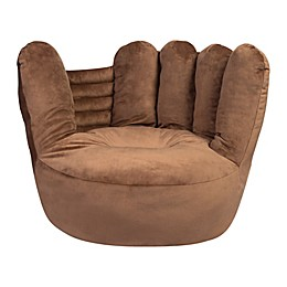 Trend Labs® Plush Baseball Glove Character Chair in Brown