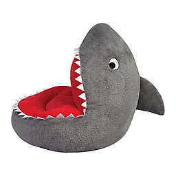 Trend Labs® Plush Shark Character Chair in White