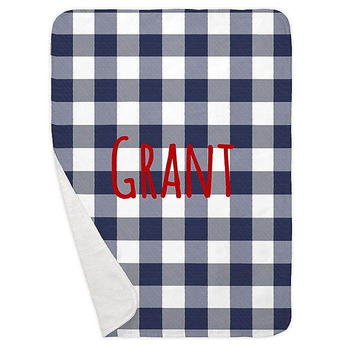 Alternate image 1 for Carousel Designs® Buffalo Check Receiving Blanket
