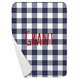 Carousel Designs® Buffalo Check Receiving Blanket