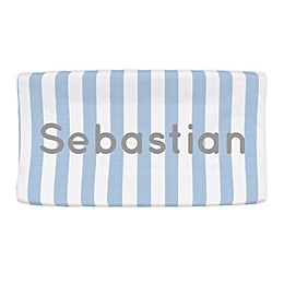 Carousel Designs® Stripe Nursery Changing Pad Cover