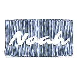 Carousel Designs® Ocean Stripe Nursery Changing Pad Cover in Blue