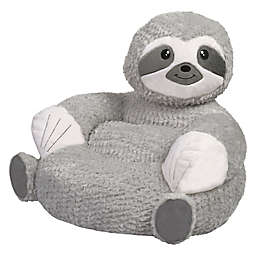 Trend Labs® Plush Sloth Character Chair in Grey/White