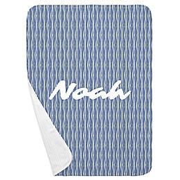 Carousel Designs® Ocean Stripe Receiving Blanket in Ocean