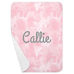 Carousel Designs® Watercolor Receiving Blanket in Pink