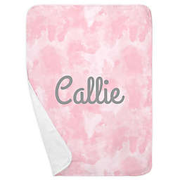 Carousel Designs® Watercolor Receiving Blanket in Pink