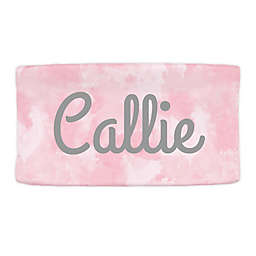 Carousel Designs® Watercolor Changing Pad Cover in Pink