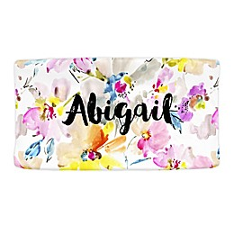 Carousel Designs® Watercolor Floral Nursery Changing Pad Cover