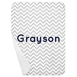 Carousel Designs® Chevron Receiving Blanket