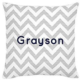 Carousel Designs® Chevron Square Throw Pillow