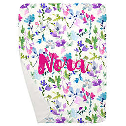 Carousel Designs® Bright Wildflower Receiving Blanket