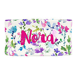 Carousel Designs® Bright Wildflower Nursery Changing Pad Cover
