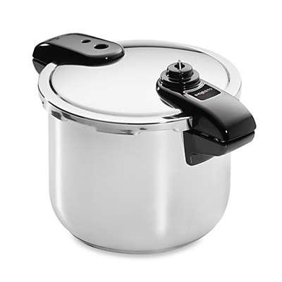 National Presto Stainless Steel 8-Quart Pressure Cooker