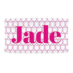 Carousel Designs® Sweetheart Nursery Changing Pad Cover in Fuchsia