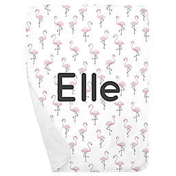 Carousel Designs® Flamingos Receiving Blanket in Pink