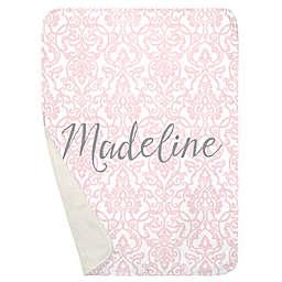 Carousel Designs® Filigree Receiving Blanket in Pink